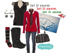 Outfit of The Day: Tuesday {Let it snow}