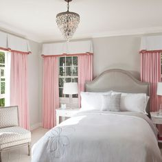 Pink And Grey Design Ideas, Pictures, Remodel, and Decor - page 18