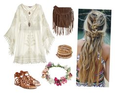 """""""More boho looks... Surprise surprise"""" by reneespafford ❤ liked on Polyvore featuring Calypso St. Barth, Valentino, Glamorous, Chan Luu and Topshop"""