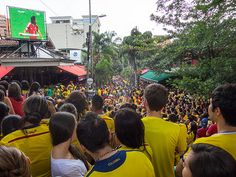 Watching the 2014 World Cup in Parque Lleras (Photos)  20140704-IMG_4691.jpg by rtwdave, via Flickr
