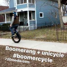 #boomerang #unicycle #boomercycle #mondaymood #coloradosprings #downtowncosprings #cycling #720media #websitedesign #socialmediamarketing #coloradoinstagram