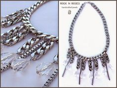 ☆☆ ROCK N' ROSES ☆☆: ::..THE CRYSTAL CLEAR NECKLACE..::  _celebrate wi...