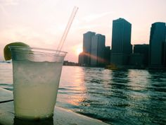 Sunset sail overlooking Manhattan - romantic things to do in NYC