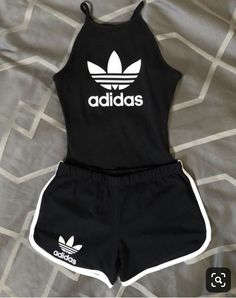 Cute You are in the right place about adidas outfit green Here we offer you the most beautiful pictu Cute Lazy Outfits, Cute Swag Outfits, Sporty Outfits, Athletic Outfits, Stylish Outfits, Fitness Outfits, Simple Outfits, Teen Fashion Outfits, Teenage Outfits