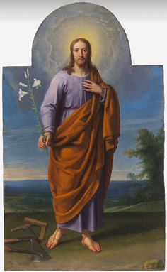 Saint Joseph Philippe de Champaigne  –1650