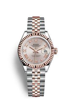 Reloj Rolex Lady-Datejust 28: Rolesor Everose - combinación de acero 904L y oro Everose de 18 quilates – 279171