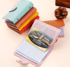 Women wallets  female thin wallet 24 Cards Pu Leather Credit ID Business Card Holder Pocket Wallet Case Free Shipping Y1 #shoes, #jewelry, #women, #men, #hats