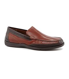 c0f9ac295a6 Johnston and Murphy Deaton Venetian Loafers  Dillards Maskuliner Stil
