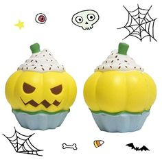 Purchase Pumpkin Ice Cream Squeeze Toy Slow Rising Cream Scented Stress Reliever Toy from Shenzhen Wanweile Network Tech on OpenSky. Share and compare all Toys. Kawaii Halloween, Stress Relief Toys, Halloween Pumpkins, Kids, Amazon, Young Children, Halloween Gourds, Boys, Amazons