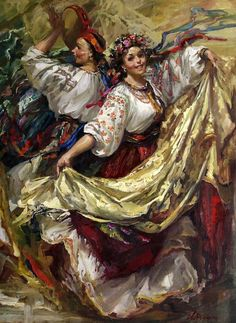wedding picture on VisualizeUs - Bookmark pictures and videos that inspire you. Social bookmarking of pictures and videos. Find your pictures and videos. Russian Painting, Russian Art, Ukraine Girls, Ukrainian Art, Folk Art, Art Drawings, Contemporary Art, Sketches, Illustration
