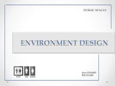 cover page ...environment design by djames