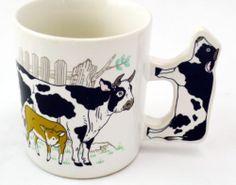 Moo Moo Milk Cow Coffee Mug  . BlingBlinky.com  FREE SHIPPING
