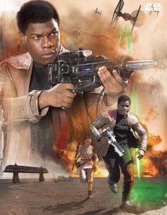 star wars force awakens finn Star Wars 7 Promo Images & Posters; Soundtrack Arrives In December
