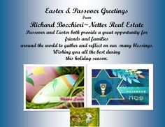 Easter & Passover Greetings to All!