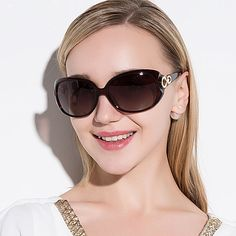 JULI New Women Sunglass Fashion Sun Glasses Polarized Gafas Polaroid Sunglasses Women Brand Designer Driving Oculos Sunglasses Women 2017, Dior Sunglasses, Luxury Sunglasses, Cheap Sunglasses, Sunglasses Accessories, Stylish Glasses For Women, Women Brands, Eyewear, Polaroid
