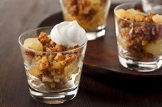 Nilla Apple Crisp - A classic dessert you can feel good about: fresh and warm apples, cinnamon and sweet crumbs o' Nilla Wafers. All the flavors and crunch you love, but made over smart.