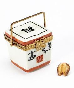 Limoges by Rochard Chinese Calligraphy French Porcelain Box | zulily
