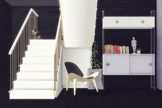 Build Mode: EzMachinima stairs from Welcome • Sims 4 Downloads