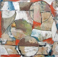 """Gandy Dancer,"" abstract painting by artist Matthew Dibble (USA) available at Saatchi Art. Go inside Matthew's studio: http://magazine.saatchiart.com/articles/artnews/saatchi-art-news/inside-the-studio-saatchi-art-news/matthew-dibble"