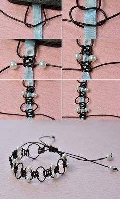 braid pearl bracelet, like it? LC.Pandahall.com will share us the tutorial soon.