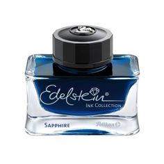 This bottle of Pelikan Edelstein Mandarin fountain pen ink is housed in a gorgeous glass bottle, pretty enough to display on your desk! Pelikan Edelstein Mandarin is a vibrant shade of orange. Noodlers Ink, Calligraphy Ink, Pen Refills, Dip Pen, Fountain Pen Ink, Writing Instruments, Ink Color, Ballpoint Pen, Fountain Pens