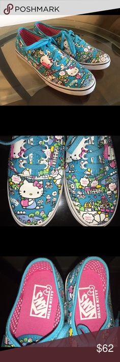 3e5fcd158 Hello Kitty Vans Limited edition hello kitty vans. These are sold out and  very rare