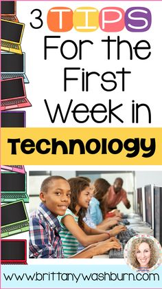The first week in the technology lab is so important. Get started on the right track with these 3 tips