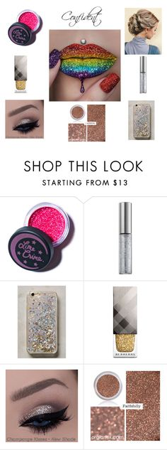 """""""Confident"""" by booksmusicalsandcoffee ❤ liked on Polyvore featuring beauty, Lime Crime, Urban Decay, Anthropologie and Burberry"""