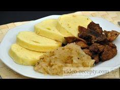 Vepřové výpečky - videorecept - YouTube Czech Recipes, Ethnic Recipes, Mashed Potatoes, Pork, Dishes, Czech Food, Cooking, Youtube, Kitchens