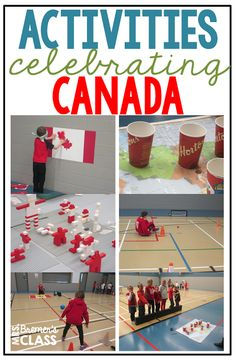 TONS of fun Canada themed activities to celebrate Canada! These hands on activities were done during a Canada unit with Grade One, Grade Two, and Grade Three.