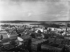 Sydney from GPO tower looking north-east | Circa 1900 | Powerhouse Museum