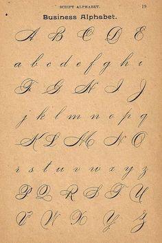 Business Alphabet