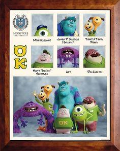 Summer break movie : monster university Pixar