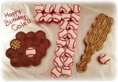 Baseball Cupcakes!