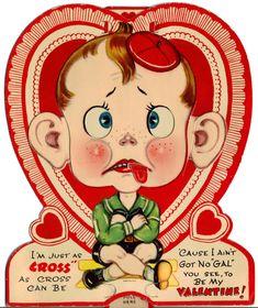 101 Creepy Valentines  Creepy Vintage valentines and Vintage