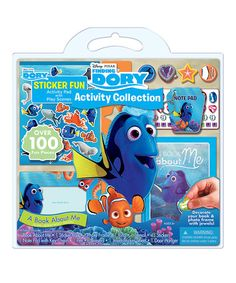 Look at this #zulilyfind! Finding Dory Activity Set #zulilyfinds