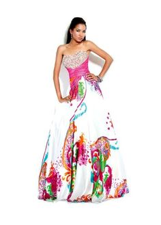 """This fabric would be a good way to have a """"white"""" dress"""