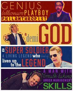 Avengers. my men.