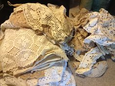 nothing sweeter than a big ole pile of lace