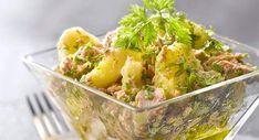 Salade de pommes de terre au thon en vinaigretteVoir la recette de la Salade de pommes de terre au thon en vinaigrette >>