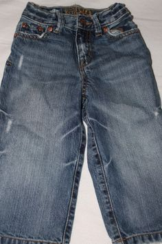Distressed jeans, 24 months