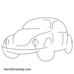 How to draw a mini cooper car | How to Draw | Pinterest