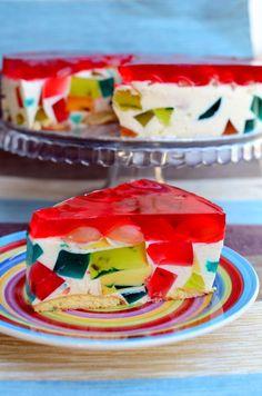 Polish Desserts, Polish Recipes, Cookie Desserts, Jello Recipes, Watermelon Recipes, Dessert Recipes, Simple Cake Designs, Asian Desserts, Special Recipes