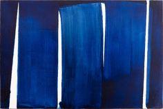 """Pierre Soulages, """" Psaume 139 """"  - 1972"""