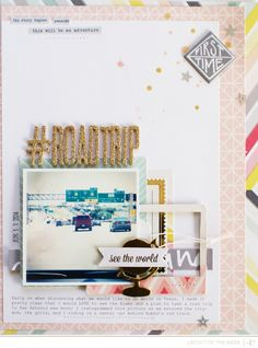 Scrapbooking Kits, Paper & Supplies, Ideas & More at StudioCalico.com! 8.5 x 11 one photo