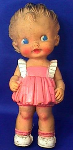Ruth E Newton  - Sun Rubber Co  - Squeaker Doll