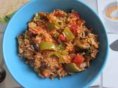 Greckie smaki: Wazanorizo, czyli ryż z bakłażanem
