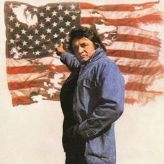 "JOHNNY CASH ~ ""That Ragged Old Flag"". Watch on You Tube >> http://www.youtube.com/watch/?v=JnivJb3Rv5A"