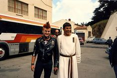 Leonard Nimoy and the Punk - Star Trek IV The Voyage Home