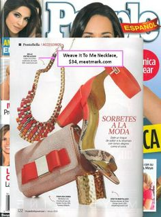 mark's Weave Me In Necklace featured in People En Espanol! #fashion http://sgruman.avonrepresentative.com/
